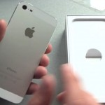 iPhone 5 weiß unboxing auspacken