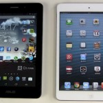 ASUS Fonepad vs Apple iPad Mini