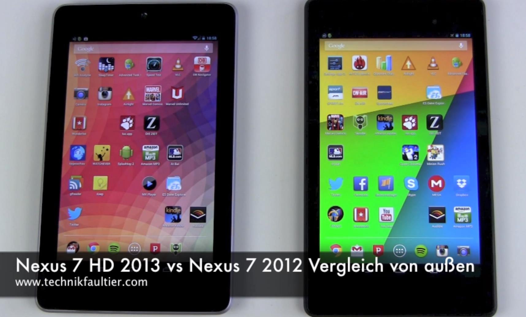 Nexus 7 2013 vs 2012