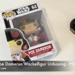 Star Wars Poe Dameron Wackelfigur Unboxing - POP 62