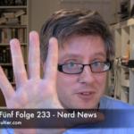Faultiers Fünf Folge 233 - Nerd News