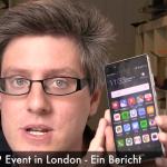 Huawei P9 Event in London - Ein Bericht