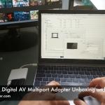 Apple USB-C Digital AV Multiport Adapter Unboxing und ausprobiert