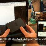 HooToo USB-C Hub HDMI Adapter Testbericht