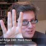 Faultiers Fünf Folge 248 - Nerd News